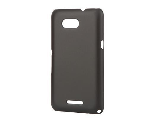 все цены на Чехол-накладка Pulsar CLIPCASE PC Soft-Touch для Sony E4G (черная) онлайн