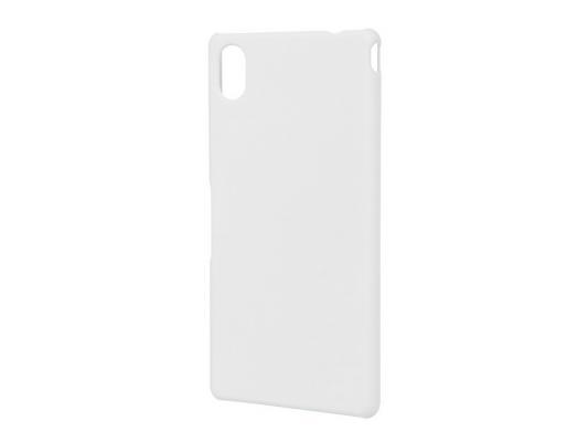 купить Чехол-накладка Pulsar CLIPCASE PC Soft-Touch для Sony M4 (белая) по цене 260 рублей