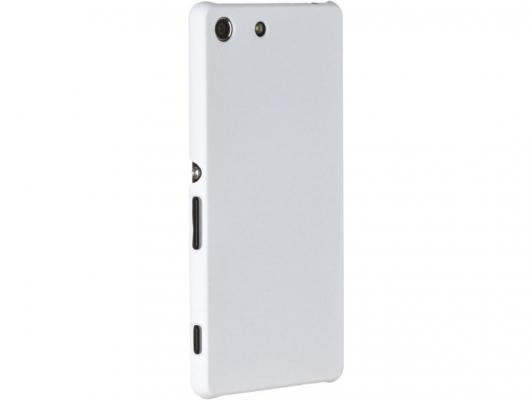 Чехол-накладка Pulsar CLIPCASE PC Soft-Touch для Sony M5/M5 Dual (белая)