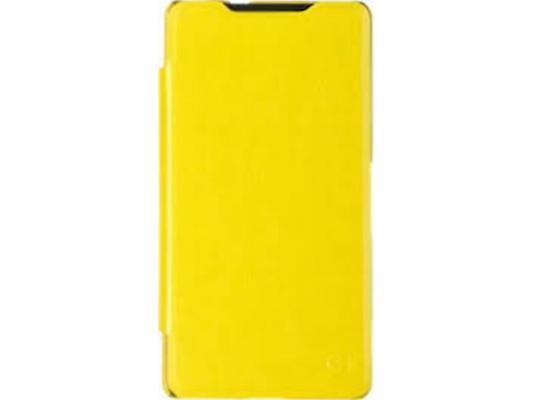 Чехол-флип PULSAR SHELLCASE для Sony Xperia C5 Ultra Dual (желтый)