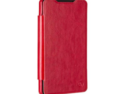 Чехол-флип PULSAR SHELLCASE для Sony Xperia C5 Ultra Dual (красный) чехол флип pulsar shellcase для sony xperia m5 m5 dual белый