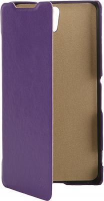 Чехол-флип PULSAR SHELLCASE для Sony Xperia C5 Ultra Dual (фиолетовый)
