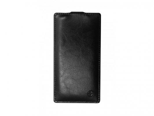 цена Чехол-флип PULSAR SHELLCASE для Sony Xperia Z3 compact (черный) PSC0341
