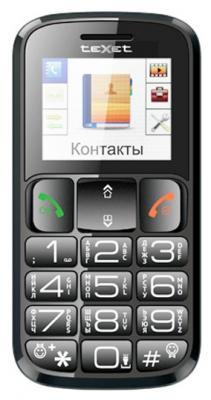 """Мобильный телефон Texet TM-B116 черный 1.77"""""""