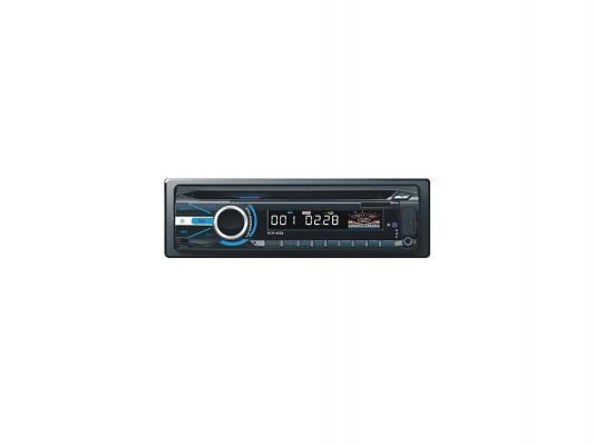 Автомагнитола Rolsen RCR-452B USB MP3 CD DVD FM SD MMC 1DIN 4x60Вт черный