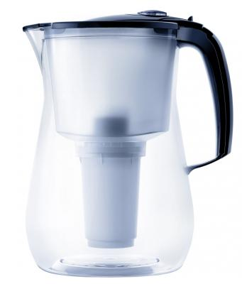 Фильтр для воды Аквафор Прованс кувшин черный