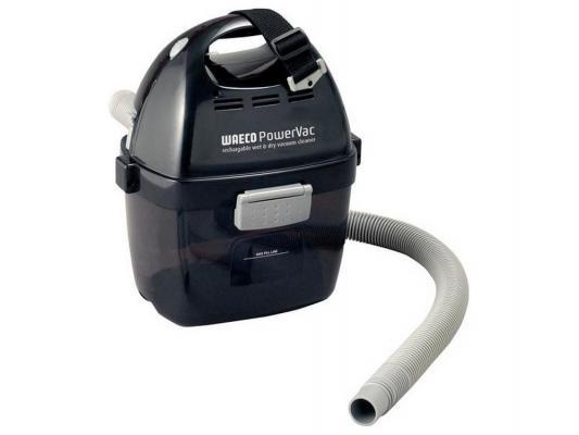 Автомобильный пылесос WAECO PowerVac PV100 без мешка сухая уборка 90Вт черный