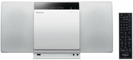 Микросистема Pioneer X-SMC01BT-W 2x10Вт белый
