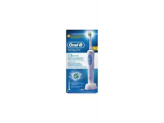 цена на Зубная щётка Braun Oral-B Vitality 3D White белый