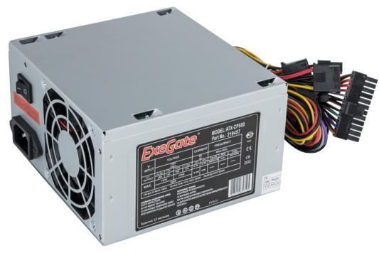 БП ATX 500 Вт Exegate ATX-CP500 бп atx 400 вт exegate atx xp400