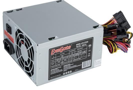 БП ATX 400 Вт Exegate ATX-CP400 бп atx 600 вт exegate atx 600npx