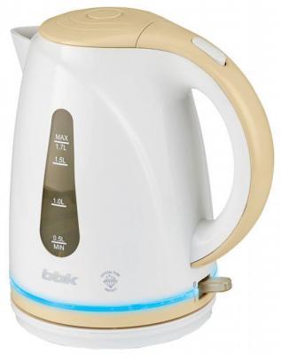Чайник BBK EK1701P 2200 Вт 1.7 л пластик белый бежевый