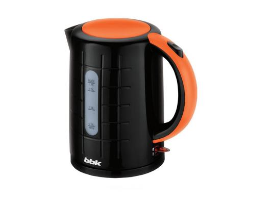 Чайник BBK EK1703P 2200 Вт 1.7 л пластик чёрный оранжевый