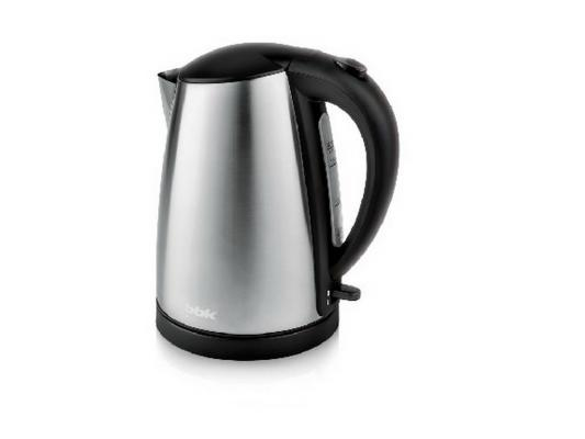 Чайник BBK EK1705S 2200 Вт чёрный металлик 1.7 л металл цена и фото
