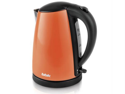 цена на Чайник BBK EK1705S 2200 Вт оранжевый 1.7 л нержавеющая сталь
