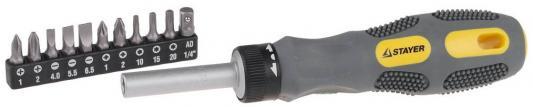 Набор отверточный Stayer Max-Grip 12шт 2589-H12 G