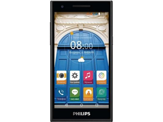 "Смартфон Philips S396 черный 5"" 8 Гб LTE GPS Wi-Fi"