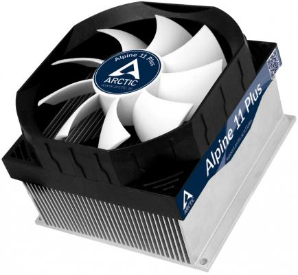 цены Кулер для процессора Arctic Cooling Alpine 11 Plus Socket S775 S1150 1155 S1156 UCACO-AP11301-BUA01