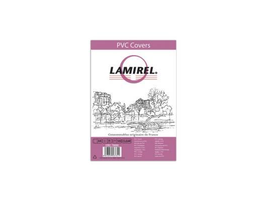 Обложка Fellowes Lamirel A4 прозрачный 100шт CRC-78680
