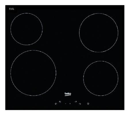 Варочная панель электрическая Beko HIC 64401 черный