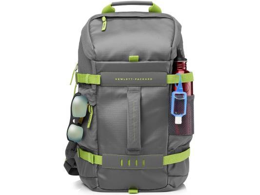 Рюкзак для ноутбука 15.6 HP L8J89AA Odyssey серо-зеленый рюкзак hp 15 6 black odyssey backpack l8j88aa