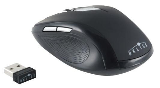лучшая цена Мышь беспроводная Oklick 465MW чёрный USB