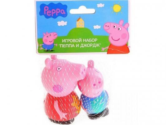 Игровой набор Peppa Pig Пеппа и Джордж 2 предмета 27132 игровой набор peppa pig семья пеппы папа свин и джорж 2 предмета от 3 лет 20837