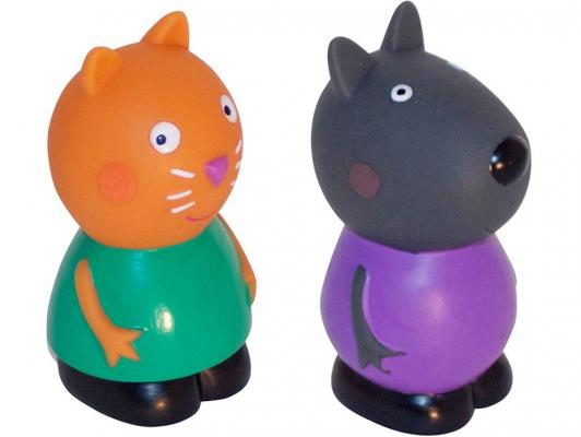 Игровой набор Peppa Pig Кенди и Денни 10 см от 3 лет 2 предмета 28792 peppa pig велосипед 1toy peppa 3 хкол пласт кол 10 8 132452