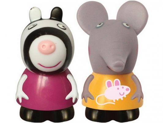 Игровой набор Peppa Pig Эмили и Зои 10 см от 3 лет 2 предмета 27131 peppa pig велосипед 1toy peppa 3 хкол пласт кол 10 8 132452