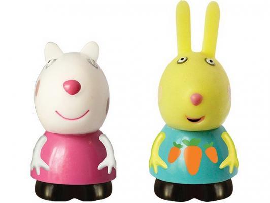 Игровой набор Peppa Pig Сьюзи и Ребекка 2 предмета 25069 фигурка peppa pig неваляшка зебра зои 2 предмета 28807