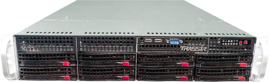 Фото - Видеорегистратор сетевой Trassir QuattroStation Pro 704x576 HDMI VGA DVI до 128 каналов гибридный видеорегистратор сетевой trassir mininvr anyip 9 hdmi vga до 9 каналов