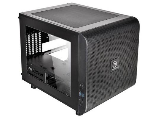 цена на Корпус microATX Thermaltake Core V21 Без БП чёрный