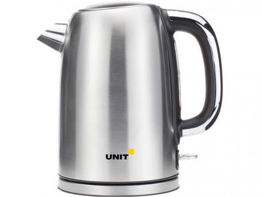 Чайник Unit UEK-264 2000 Вт 1.7 л нержавеющая сталь серебристый чайник kitchenaid kten20sbob чёрный 1 9 л нержавеющая сталь
