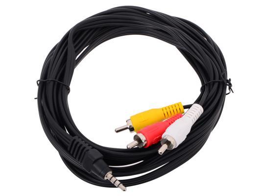 Кабель соединительный Telecom 3.5Jack (M)-3хRCA(M) TAV4545-3M 3m peltor skull screw earplugs 120 pair