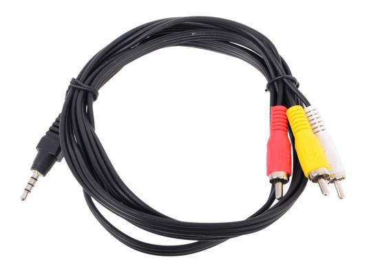 Кабель соединительный Telecom 3.5Jack (M)-3хRCA(M) TAV4545-1.5M кабель соединительный аудио видео buro 3хrca m 3хrca m 1м черный [baac027 1]