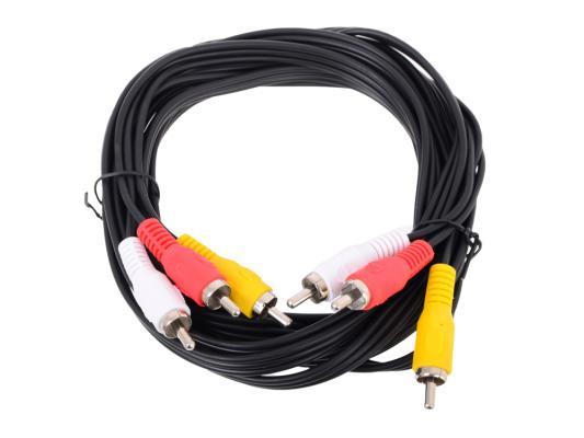 Кабель соединительный 3.0м VCOM Telecom 3xRCA(M)-3xRCA(M) TAV7150-3M