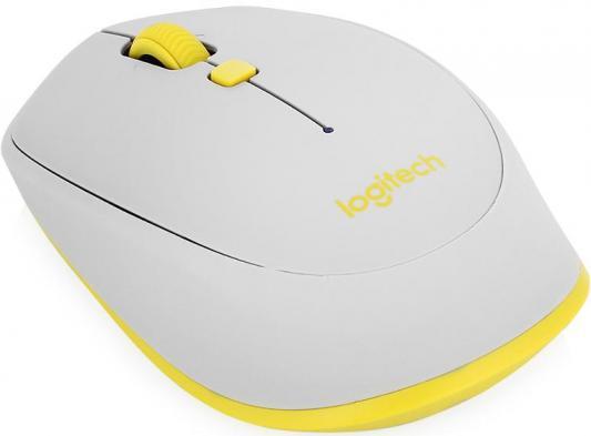 Мышь беспроводная Logitech M535 серый жёлтый Bluetooth 910-004530