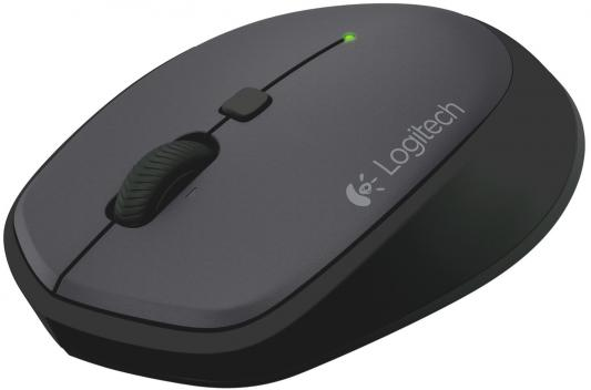 Мышь беспроводная Logitech M335 чёрный USB 910-004438 мышь беспроводная logitech m335