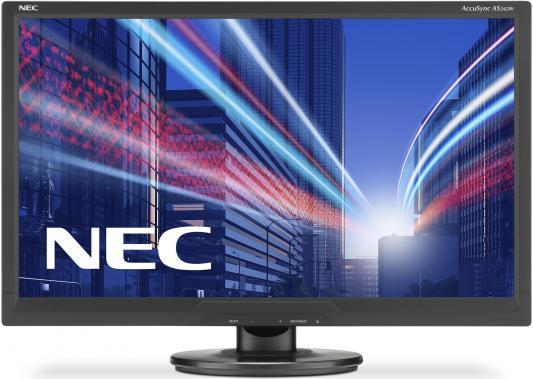 Монитор 24 NEC AS242W монитор nec 24 multisync e245wmi серебряный белый e245wmi silver