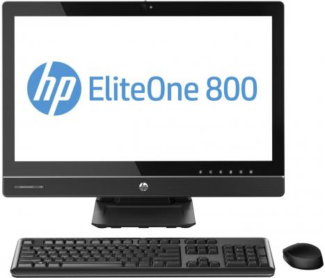 "Моноблок HP EliteOne 800 23"" 1920x1080 глянцевый i7-4790S 3.2GHz 8Gb 128Gb SSD HD4600 DVD-RW Wi-Fi Win8.1Pro черный J7D96ES"