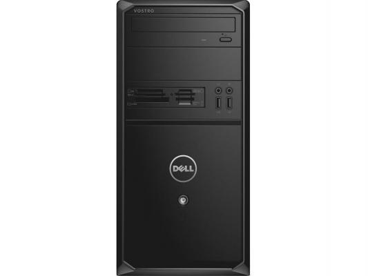 Системный блок DELL Vostro 3900 MT i3-4170 3.7GHz 4Gb 500Gb HD4400 DVD-RW Linux клавиатура мышь черный 3900-7504
