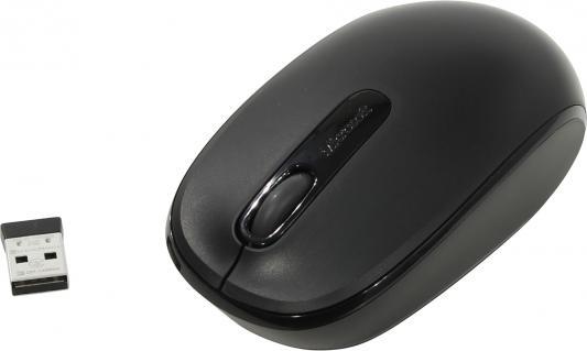 Мышь беспроводная Microsoft Wireless Mobile 1850 чёрный USB 7MM-00002