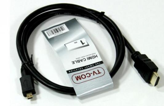 Кабель HDMI-micro HDMI 1.8м VCOM Telecom CG583K-1.8M 6926123462690 кабель hdmi 1 8м vcom telecom cg526s 1 8mb