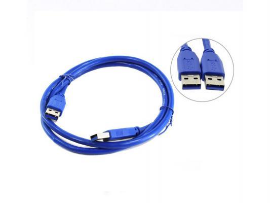 Кабель соединительный USB 3.0 AM-AM 1.0м 5bites UC3009-010 аксессуар 5bites usb 3 0 am micro 9pin 0 5m tc303 05