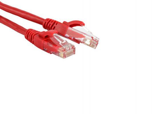 Патч-корд UTP 5E категории 2.0м Hyperline PC-LPM-UTP-RJ45-RJ45-C5e-2M-LSZH-RD красный