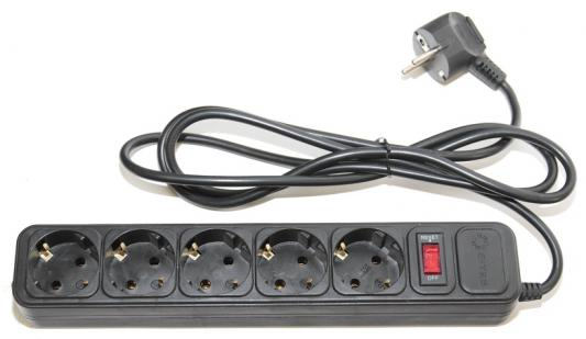 Сетевой фильтр 5bites SP5-B-30 3м 5 розеток черный