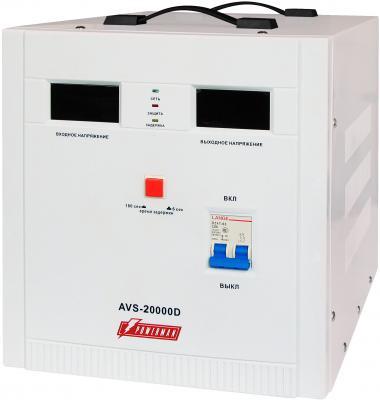 Стабилизатор напряжения Powerman AVS 20000D белый — ибп стабилизатор powerman avs 2000m