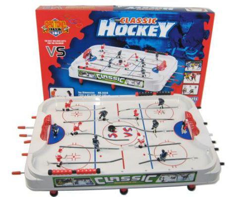Настольная игра Хоккей Классик 72х42,5х18,7см Shantou Gepai 2628