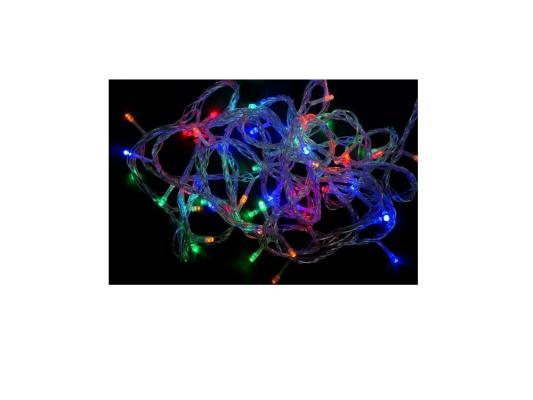 Гирлянда 140 LED, цветное свечение, прозрачный провод Новогодняя сказка 971203