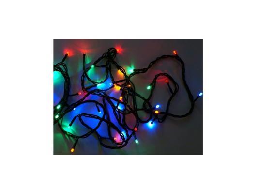 Гирлянда 180 LED, цветное свечение, зеленый провод Новогодняя сказка 971202